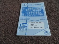 Bishop Auckland v Tow Law Town, 1989/90 [FA]
